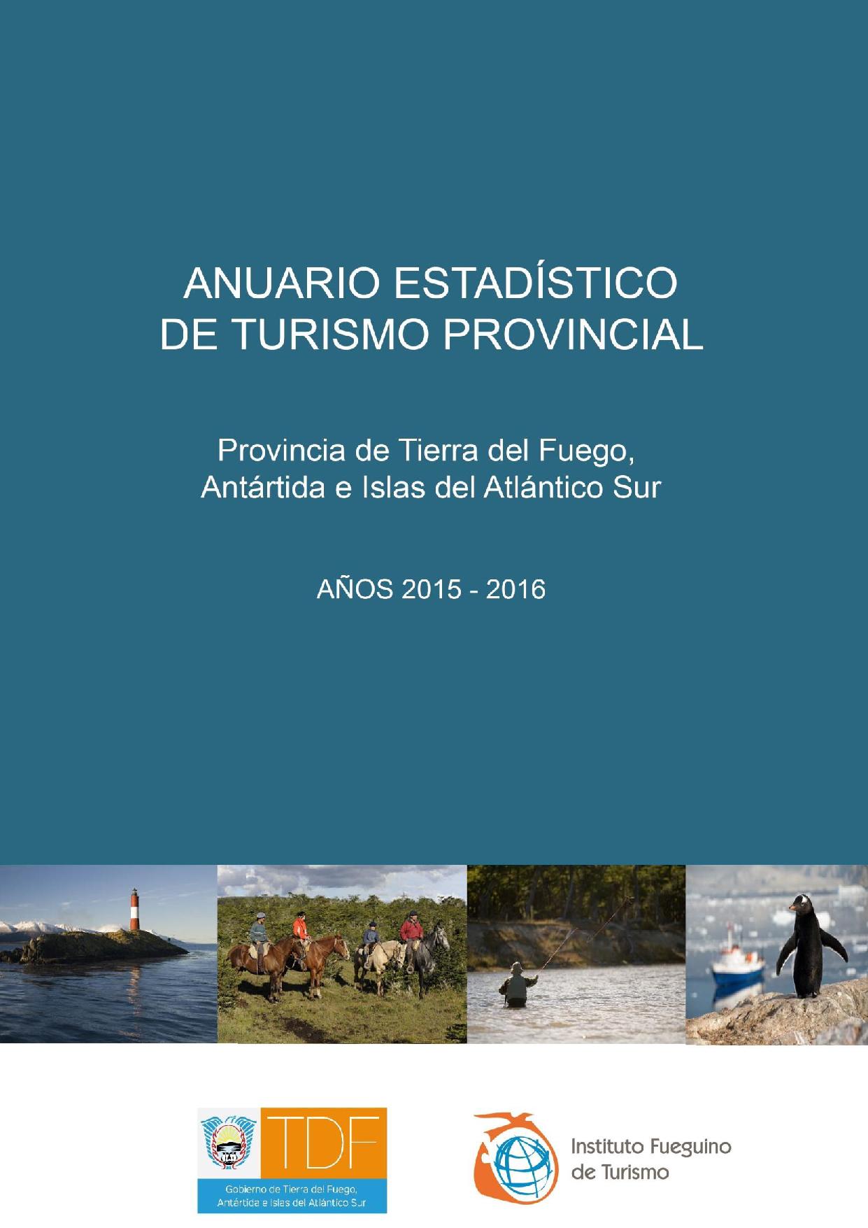 Portada Anuario Estadístico 2015-2016